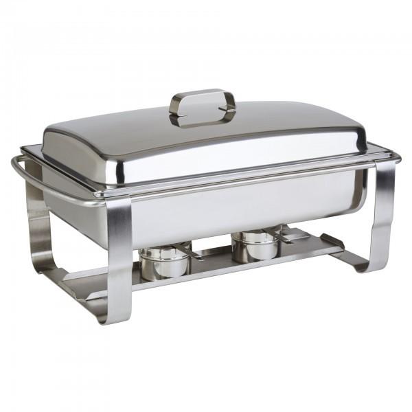 Chafing-Dish - Edelstahl - rechteckig - Serie Caterer - APS 12240