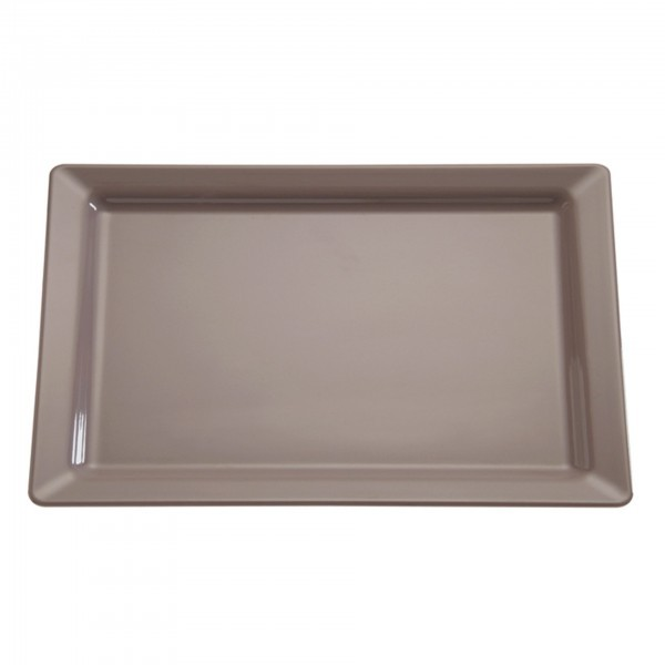 Tablett - Melamin - taupe - Serie Pure Color - APS 83560