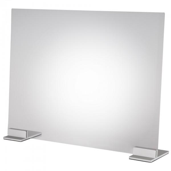 Hygieneschutzwand - Acryl - transparent - rechteckig - 98042