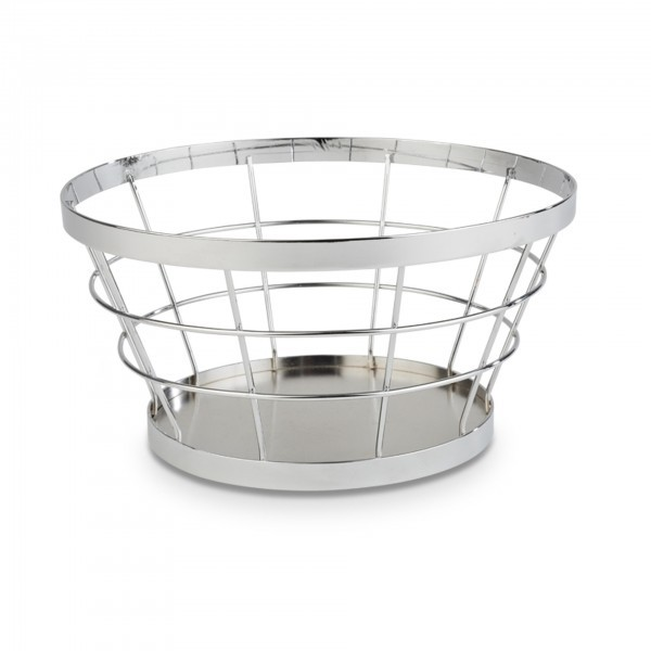 Buffet-Ständer - Metall - Silber-Look - Serie Baskets - APS 15321