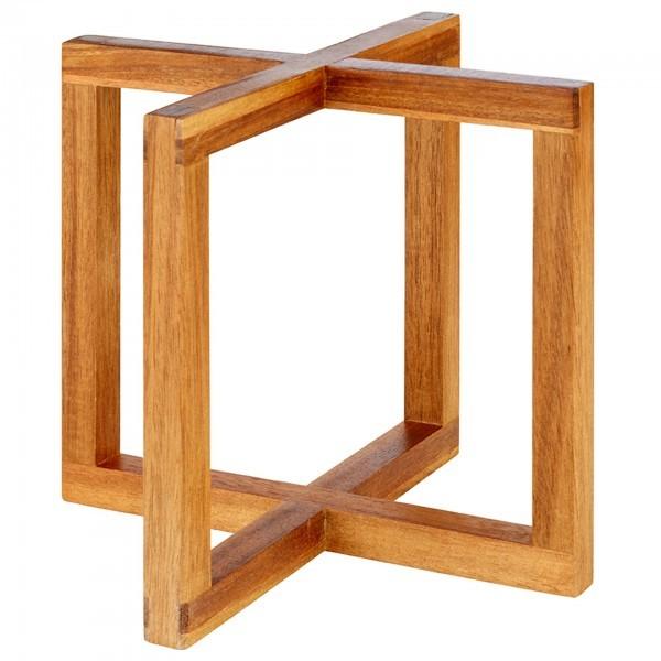 Buffet-Ständer - Akazienholz - naturfarben - Serie Wood - APS 33280