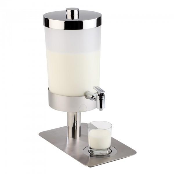 Saft- und Milchdispenser - Edelstahl / SAN - matt poliert - Serie Sunday - APS 10865