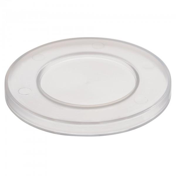 Deckel - Polypropylen - transparent - rund - 83605