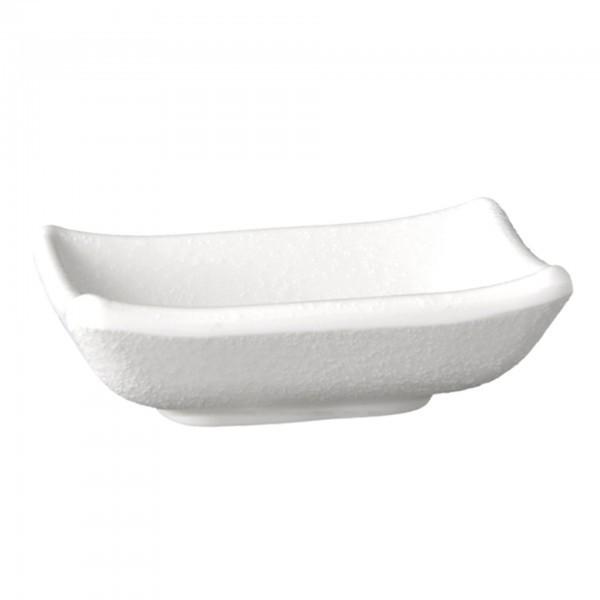 Schale - Melamin - weiß - Serie Zen - APS 83946