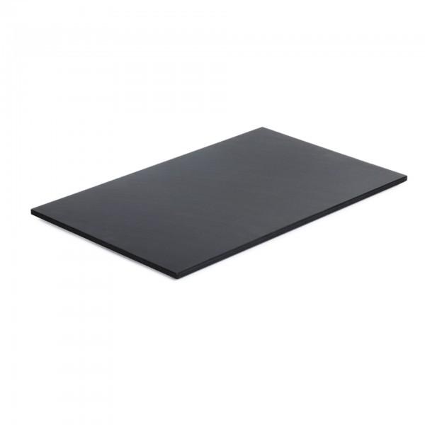 Schneidbrett - Polyethylen - schwarz - rechteckig - APS 17910