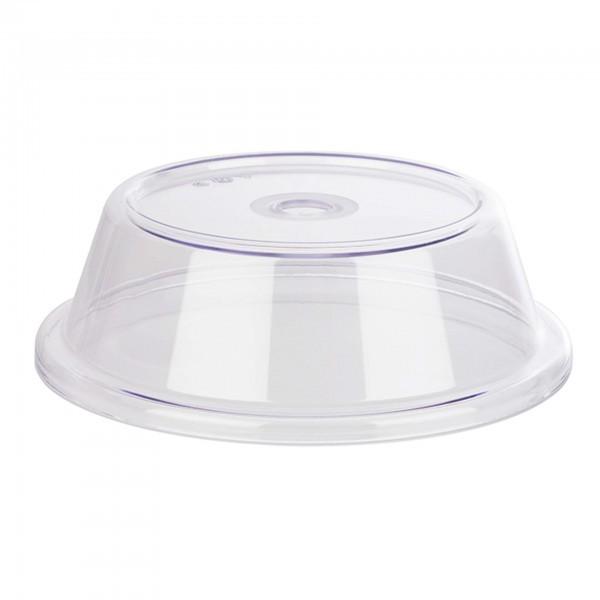 Tellerabdeckhaube - transparent - rund - 11051