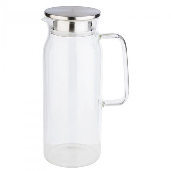 Karaffe - Glas - transparent - rund - 10792