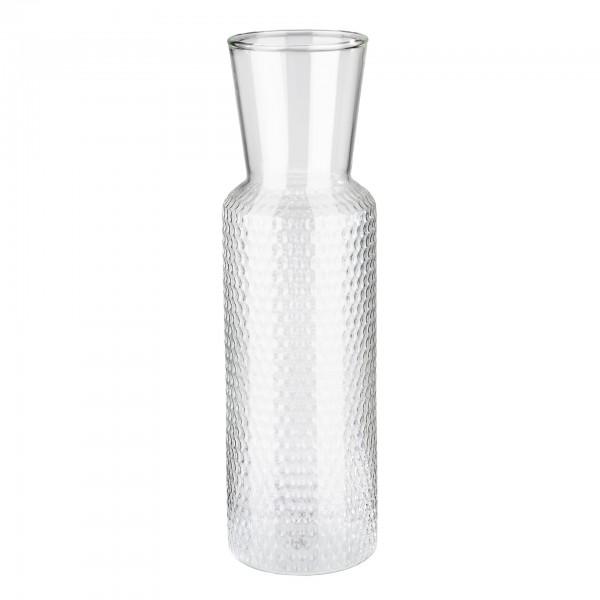 Karaffe - Glas - transparent - rund - Serie Dots - 10739