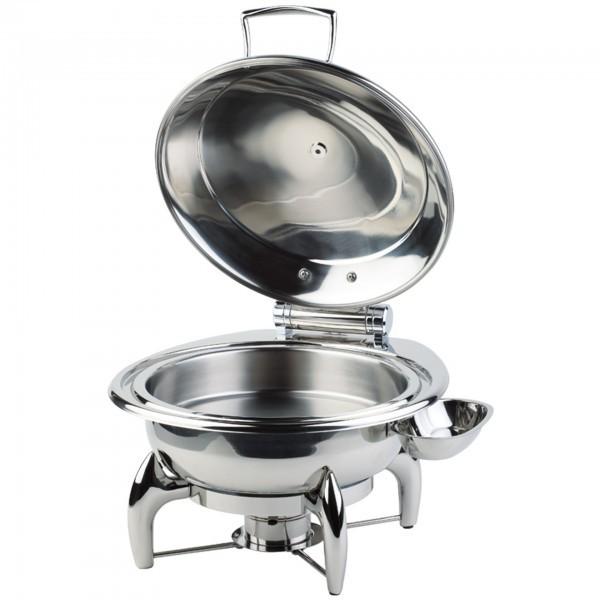 Chafing-Dish - Edelstahl - hochglanzpoliert - rund - Serie Globe - APS 12393
