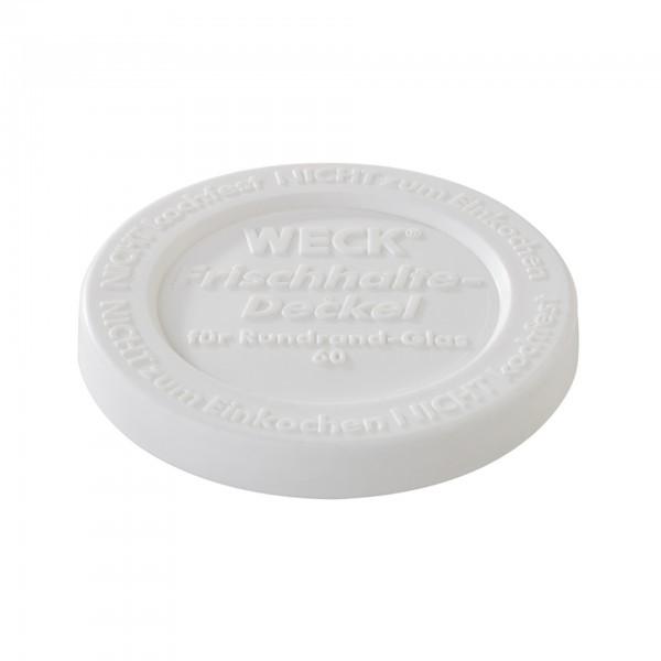 Weck-Frischhaltedeckel - Polyethylen - weiß - APS 82338