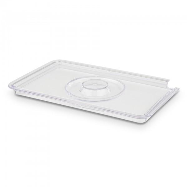 Deckel - SAN - glasklar - rechteckig - Serie Universal - APS 15348