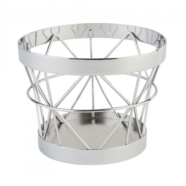 Buffet-Ständer - Metall - Silber-Look - Serie Baskets - APS 15320
