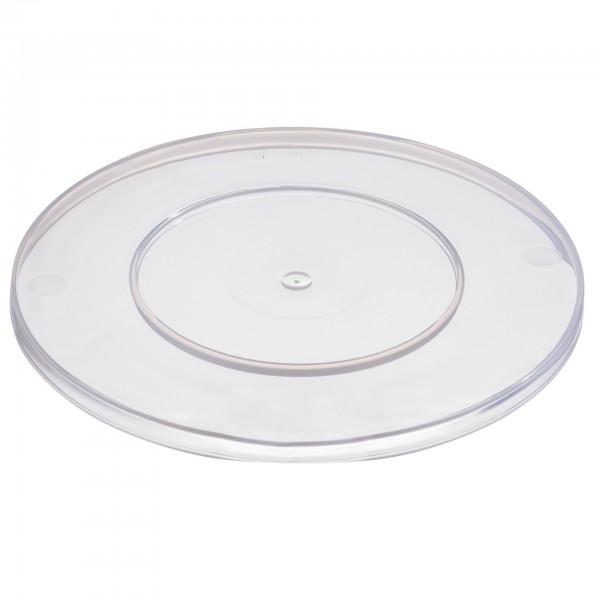 Deckel - Polypropylen - transparent - rund - 83606