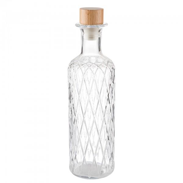 Karaffe - Glas - transparent - rund - Serie Diamond - 10742
