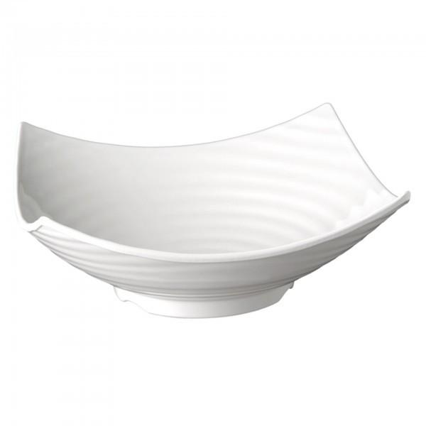 Schale - Melamin - weiß - Serie Global Buffet - APS 83785