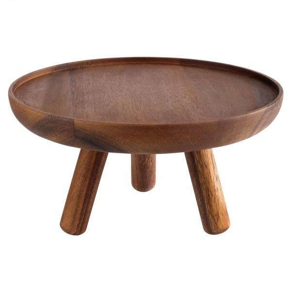 Buffet-Ständer - Holz - rund - Serie Acacia - 15620