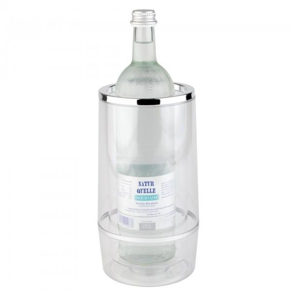 Flaschenkühler - Polystyrol - transparent - APS 36032