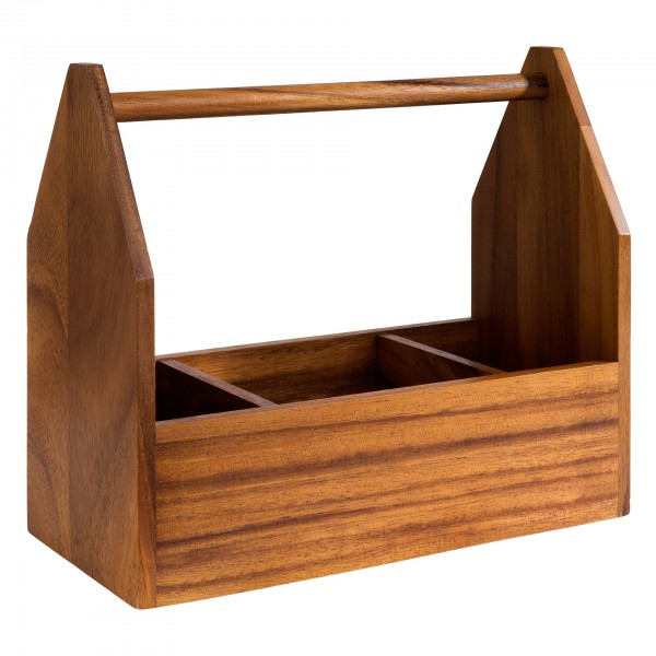 Table Caddy - Akazienholz - rechteckig - 40403