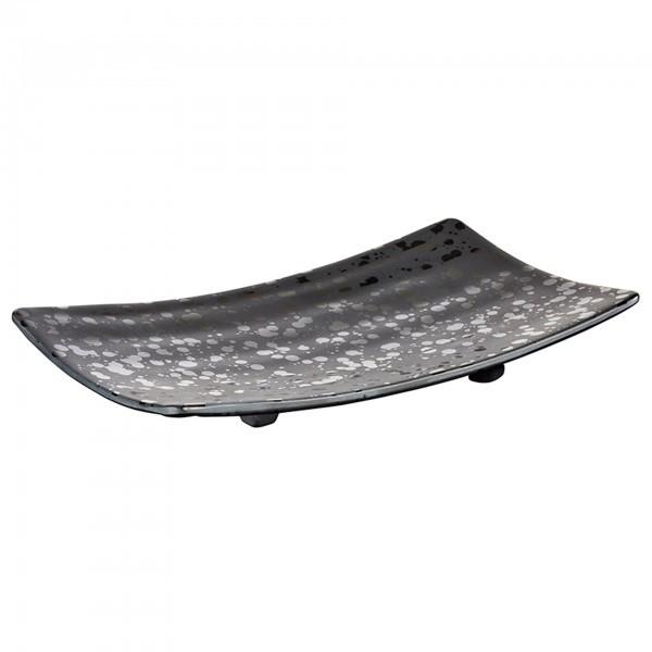 Tablett - Melamin - schwarz - Serie Glamour - APS 84377