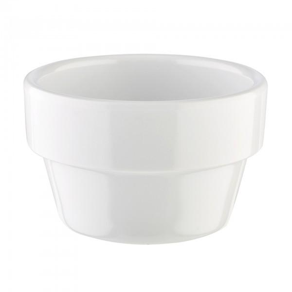Schale - Melamin - weiß - rund - Serie Flower Pot - APS 84470