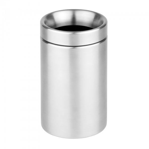 Tischrestebehälter - Edelstahl - matt poliert - rund - Serie Sunday - APS 00024