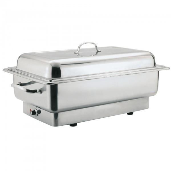 Elektro-Rolltop-Chafing Dish - Edelstahl - poliert - eckig - Serie Inoxstar - APS 12222