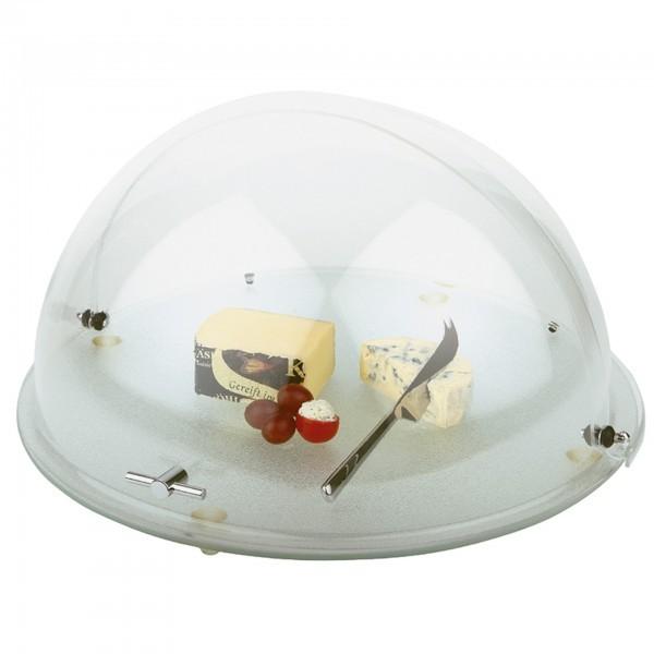 Buffet-Set - Kunststoff / Glas - rund - APS 00978