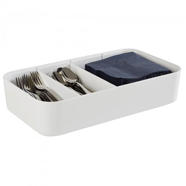Sortierbox - Melamin - weiß - Serie Multi - APS 84531