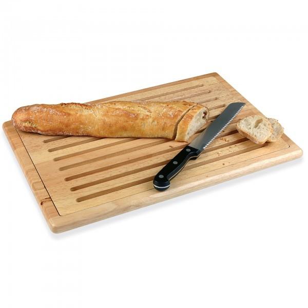 Brotschneidebrett - Holz - natur - rechteckig - APS 00955