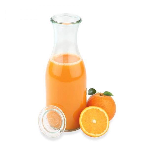 Weck-Flaschen - Glas - klar - bauchig - Serie Weck - APS 82309