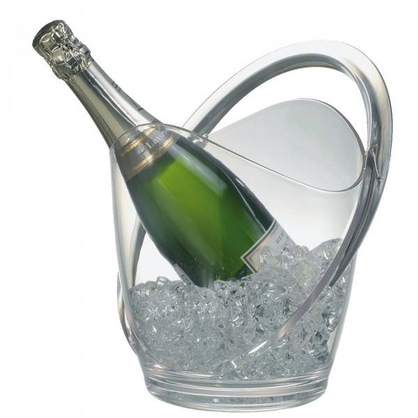 Wein- / Sektkühler - MS - glasklar - APS 36055