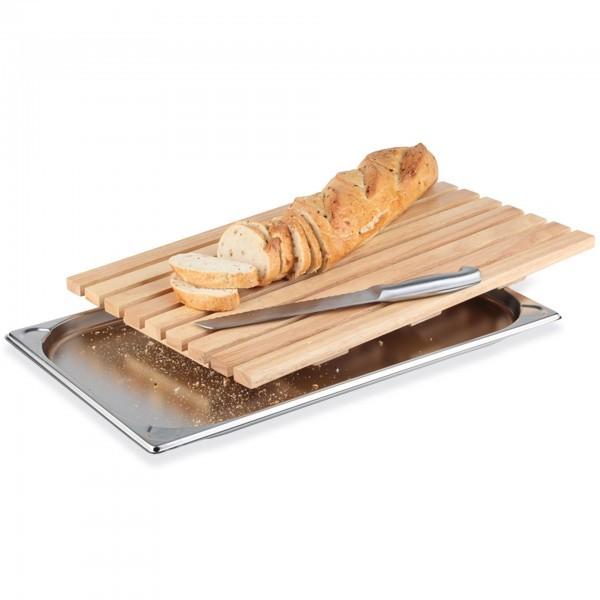 Brotschneidebrett - Holz - natur - rechteckig - APS 00951