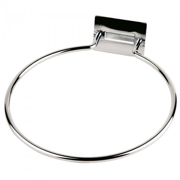 Einzelring - Metall - verchromt - Serie Big - APS 11596