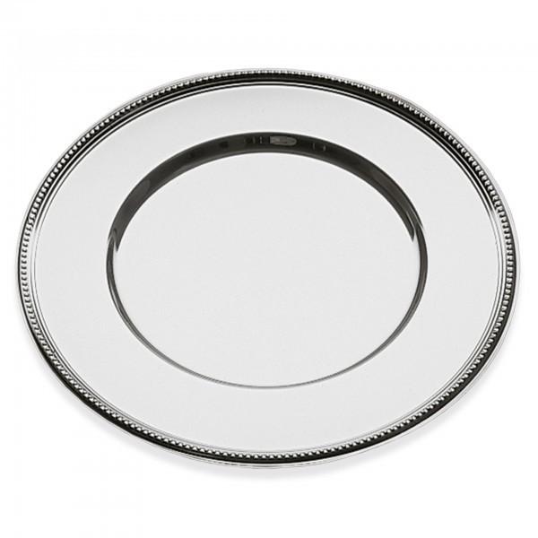 Platzteller - Edelstahl - silber - APS 35720