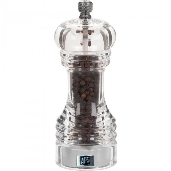 Pfeffermühle - Acryl - transparent - Serie Professional - APS 40540