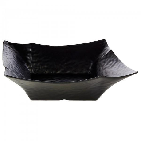 Schale - Melamin - schwarz - Serie Global Buffet - APS 84387