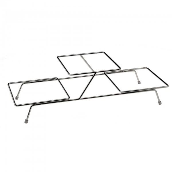 Büfett-Gestell - Metall - verchromt - Serie Float - APS 33241
