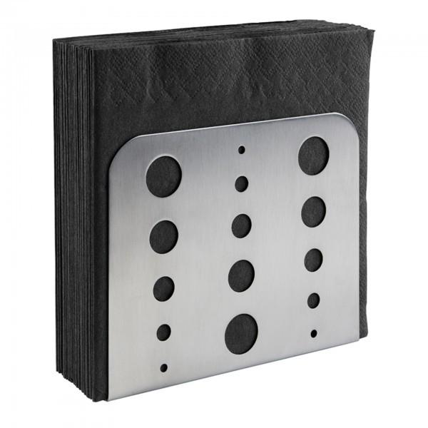 Serviettenhalter - Edelstahl - matt poliert - APS 11780
