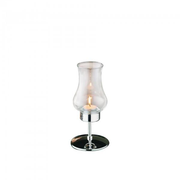Windlicht / Tischleuchte - Metall / Glas - APS 03013