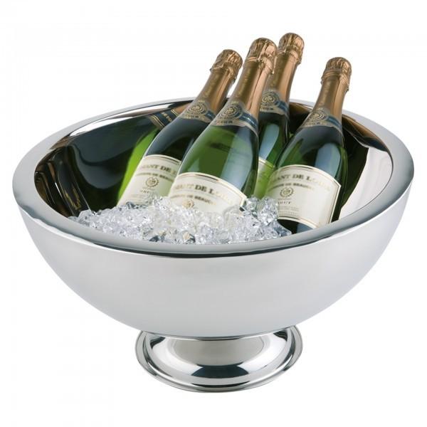 Champagnerkühler - Edelstahl - rund - APS 36044