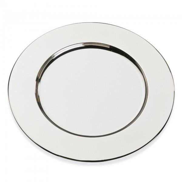 Platzteller - Edelstahl - silber - APS 35735