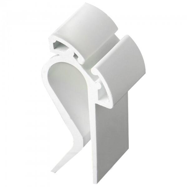 Beschriftungsclips - Polypropylen - weiß - APS 71482