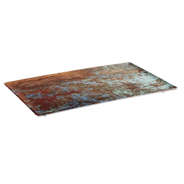 GN-Tablett - Melamin - Kupfer, gebürstet - Serie Aquaris - APS 84740