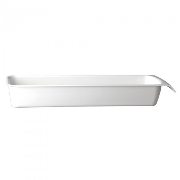 GN-Schale - Melamin - weiß - Serie Cascade - APS 83961