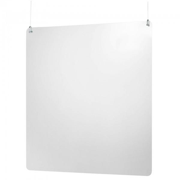 Hygieneschutzwand - Deckenabhängung - hochkant - 98016