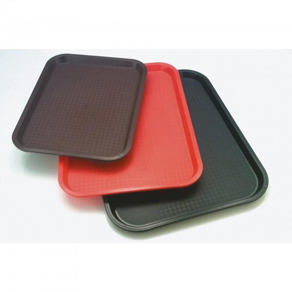 Tablett - Polypropylen - rot - rechteckig - 00530