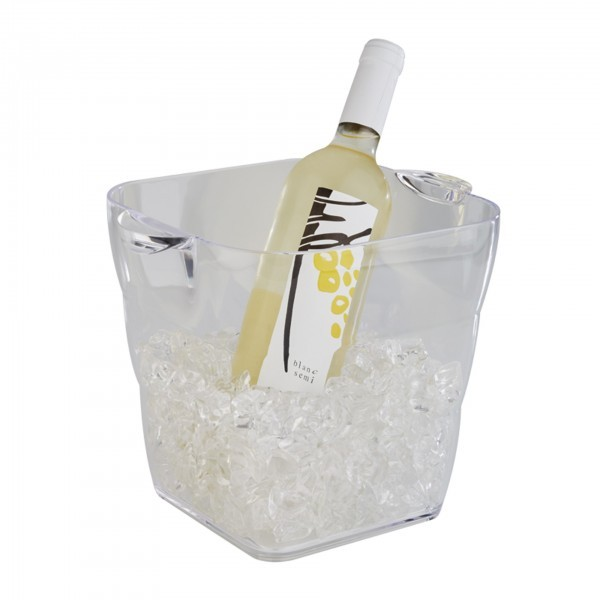 Wein- / Sektkühler - MS - klar - APS 36081