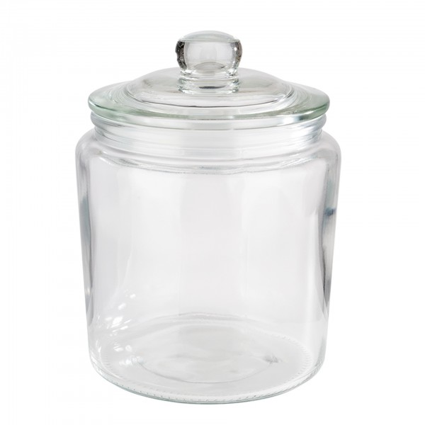 Vorratsglas - Glas - transparent - rund - 82250