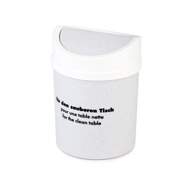 Tischrestebehälter - SAN - weiß - APS 00031