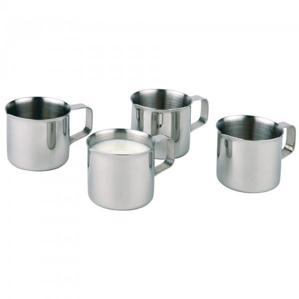 Milchkännchen - Edelstahl - hochglanzpoliert - APS 10321